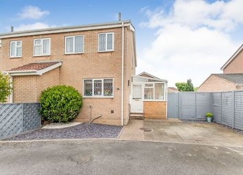 Thumbnail 2 bed semi-detached house for sale in Marshchapel Close, Cleethorpes