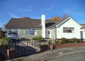 Thumbnail 3 bed detached bungalow for sale in Hazel Court, Rassau, Ebbw Vale, Blaenau Gwent