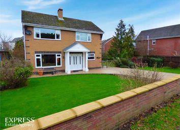 Thumbnail 4 bed detached house for sale in Wood Lane, Hawarden, Deeside, Flintshire