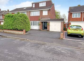 Thumbnail 4 bed semi-detached house for sale in Yiewsley Crescent, Stratton, Swindon, Wiltshire