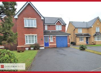 Thumbnail 4 bed detached house to rent in Dewberry Grove, Rogerstone