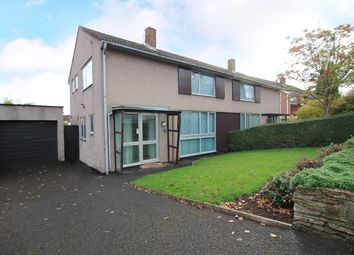 Thumbnail 3 bed semi-detached house for sale in Crockerne Drive, Pill, North Somerset