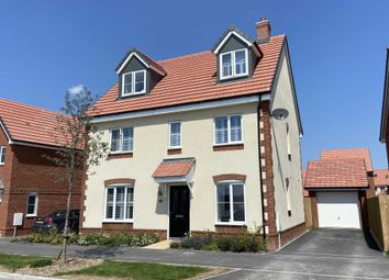 Thumbnail 5 bed detached house for sale in Sorrel Crescent, Didcot