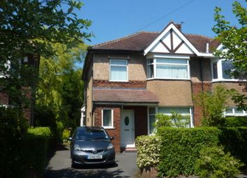 Thumbnail 3 bed semi-detached house to rent in Greystock Avenue, Preston