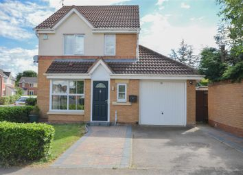 Thumbnail 3 bedroom detached house for sale in Swan Gardens, Peterborough