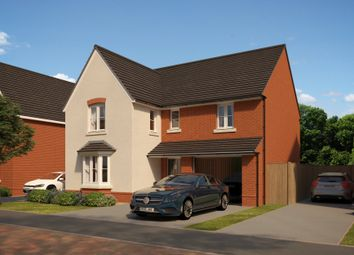 "Thumbnail 4 bedroom detached house for sale in ""Exeter"" at The Walk, Withington, Hereford"