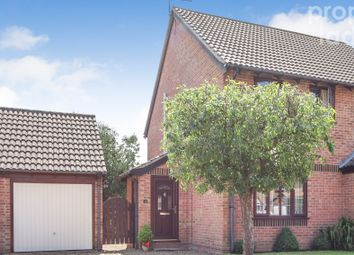 Thumbnail 2 bed semi-detached house for sale in St. Margarets Drive, Sprowston, Norwich