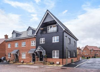 Thumbnail 3 bed town house for sale in Hawthorn Garden, Harwell, Didcot