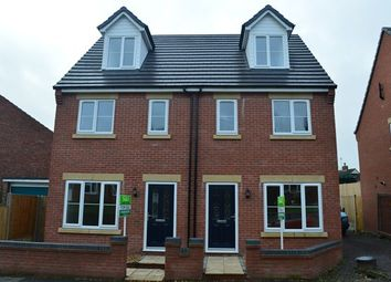 Thumbnail 3 bed semi-detached house to rent in Salisbury Road, Market Drayton