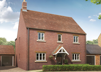 Thumbnail 4 bed detached house for sale in Sibford Road, Banbury