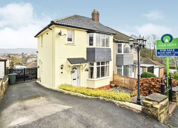 Thumbnail 3 bed semi-detached house for sale in Oakbank Drive, Keighley