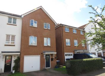 Thumbnail 4 bedroom town house for sale in Purdom Road, Welwyn Garden City