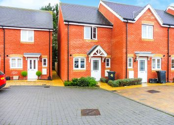 Thumbnail 2 bed end terrace house for sale in Stratone Mews, Swindon