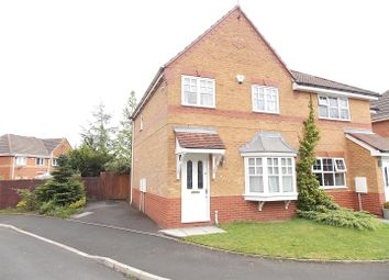 Thumbnail 3 bed semi-detached house for sale in Edenbridge Drive, Radcliffe, Manchester