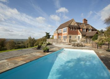 Thumbnail 6 bed detached house to rent in The Green, Shamley Green, Guildford