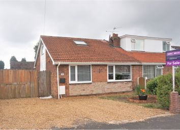 Thumbnail 2 bed semi-detached bungalow for sale in Cornwall Avenue, Manchester
