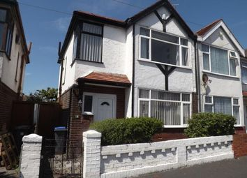 Thumbnail 3 bed semi-detached house for sale in Hollywood Avenue, Blackpool, Lancashire, .