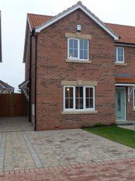 Thumbnail 2 bed semi-detached house to rent in D'arcy Close, Winterton, Scunthorpe