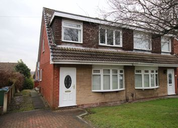 Thumbnail 3 bed semi-detached house for sale in Dalton Drive, Wigan