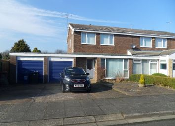Thumbnail 3 bed semi-detached house for sale in Hawkshead Court, Newcastle Upon Tyne