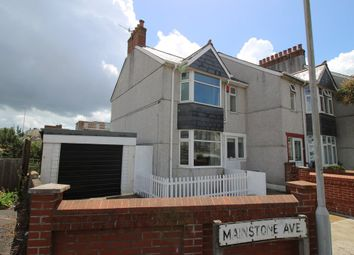 Thumbnail 5 bedroom end terrace house for sale in Mainstone Avenue, Plymouth