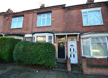 Thumbnail 3 bed terraced house to rent in Thurlow Road, Clarendon Park, Leicester