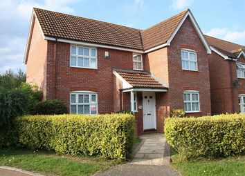Thumbnail 4 bed detached house to rent in Bergamot Close, Thetford