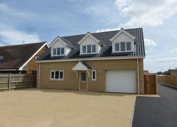 Thumbnail 4 bed detached house for sale in Mill Lane, Bradwell, Great Yarmouth