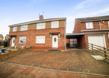 Thumbnail 3 bed semi-detached house for sale in Garden House Estate, Crawcrook, Ryton
