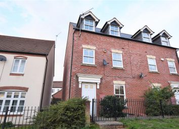 Thumbnail 3 bed town house for sale in Usher Drive, Banbury