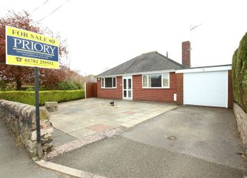 Thumbnail 2 bed detached bungalow for sale in Halls Road, Gillow Heath, Biddulph