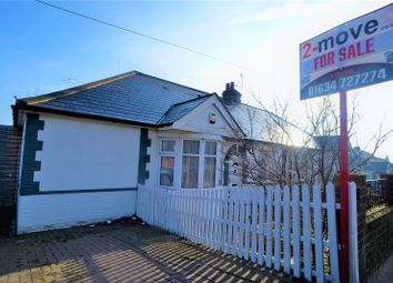 Thumbnail 2 bed semi-detached bungalow for sale in Cuxton Road, Rochester, Kent
