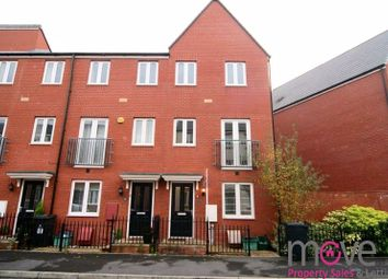 Thumbnail 4 bed terraced house for sale in Longhorn Avenue, Gloucester