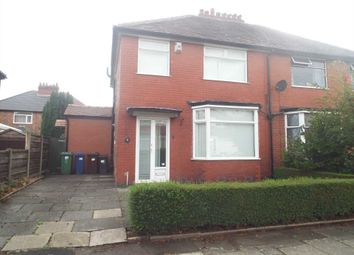 Thumbnail 3 bedroom semi-detached house for sale in Ferndene Road, Prestwich, Manchester