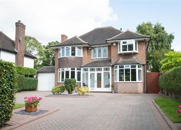 Thumbnail 4 bed detached house for sale in Featherston Road, Streetly, Sutton Coldfield