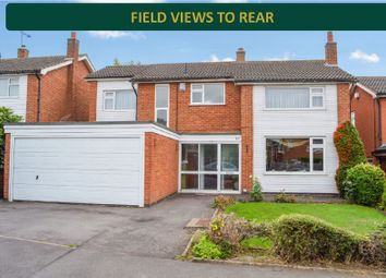 Thumbnail 4 bed detached house for sale in Windrush Drive, Oadby, Leicester
