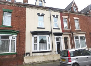 Thumbnail 4 bed terraced house for sale in St. Pauls Road, Hartlepool