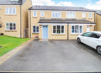 Thumbnail 3 bed semi-detached house for sale in Rough Heys Way, Lightcliffe, Halifax