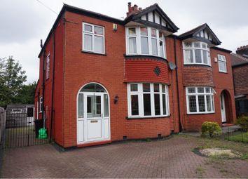 Thumbnail 3 bed semi-detached house for sale in Christleton Avenue, Heaton Chapel