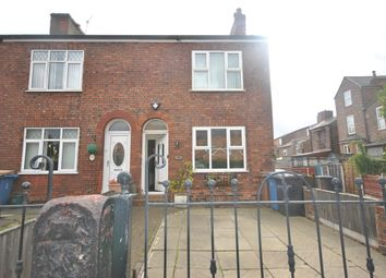 Thumbnail 2 bed end terrace house for sale in Cromwell Road, Eccles Manchester