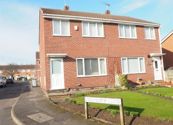 Thumbnail 3 bed semi-detached house for sale in Kingsnorth Close, Newark