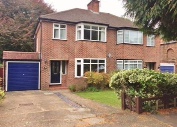 Thumbnail 3 bed semi-detached house to rent in Lower Barn Road, Purley