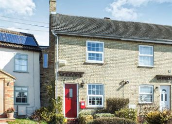 Thumbnail 2 bed end terrace house for sale in Fox Hill Road, Guilden Morden, Royston