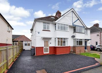 Thumbnail 3 bed semi-detached house for sale in Preston Down Avenue, Preston, Paignton, Devon