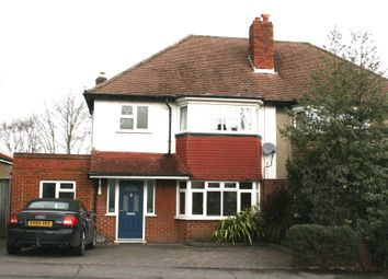 Thumbnail 3 bed semi-detached house to rent in Mulgrave Road, Cheam