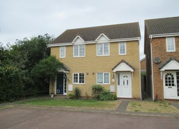 Thumbnail 2 bedroom semi-detached house to rent in Moat Way, Swavesey, Cambs