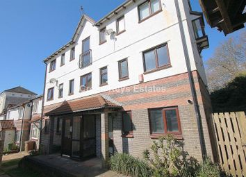 Thumbnail 1 bed flat for sale in Washbourne Close, Plymouth