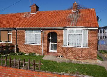 Thumbnail 2 bedroom semi-detached bungalow to rent in Kirkley Run, Lowestoft