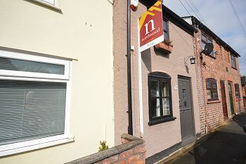 Thumbnail 2 bed terraced house to rent in Elton Road, Ettiley Heath, Sandbach, Cheshire
