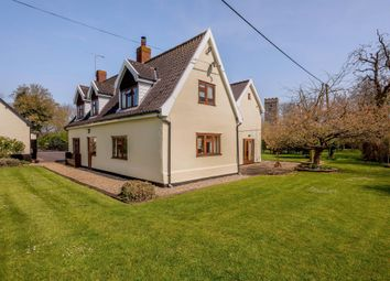 Thumbnail 4 bed detached house for sale in Low Road, Forncett St. Mary, Norwich